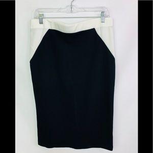 Dresses & Skirts - color block plus size pencil skirt BNWOT